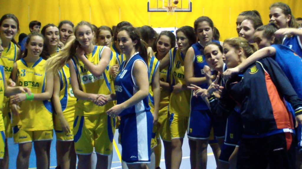 Video: Brains vs Maravillas Femenino. Copa Colegial Madrid 2014