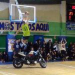 """ZeroGravity"". Super mate saltando una moto. Liceo Sorolla vs Salesianos Soto. Copa Colegial 2014"