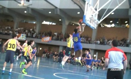 Videos: Estudio vs Mirabal. Semifinal Copa Colegial Madrid 2014
