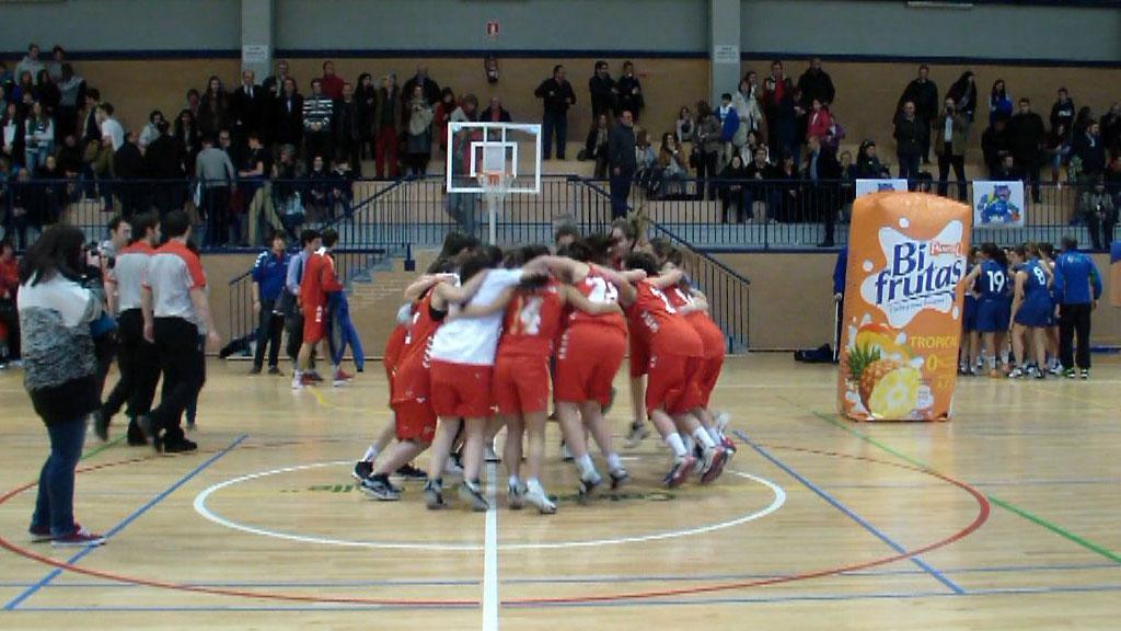 Video: El Valle San Chinarro vs Buen Consejo. Femenino. Copa Colegial Madrid 2014