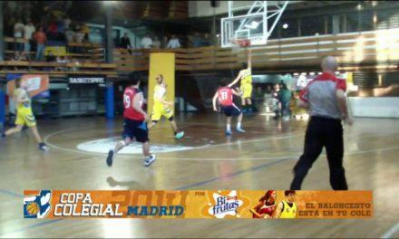 Video: El baloncesto y su épica. Maravillas vs Corazonistas. Cuartos de Final Copa Colegial Madrid 2014