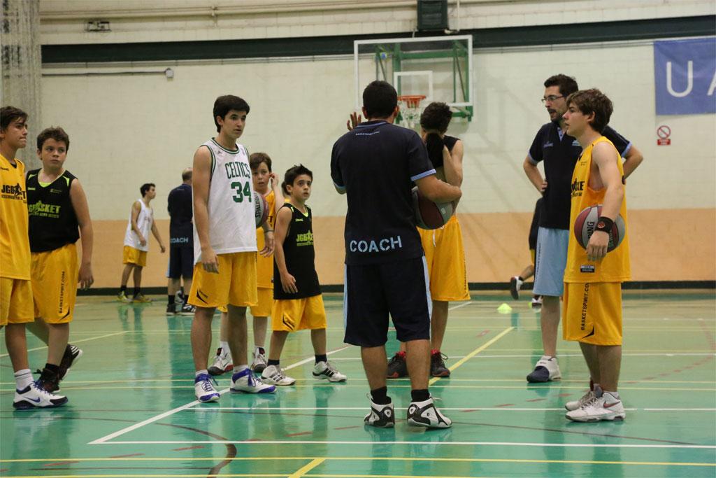 Sesión de entrenamiento XII Campus JG Basket