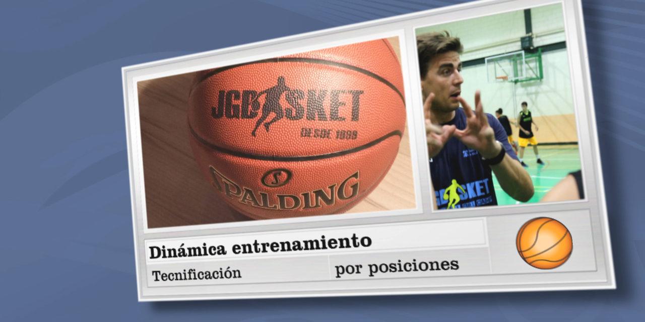 Video: Dinámica entrenamiento sesiones de técnica individual por posiciones en el Campus JGBasket