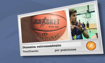 Video: Dinámica entrenamiento sesiones de técnica individual por posiciones en el Campus JGBasket
