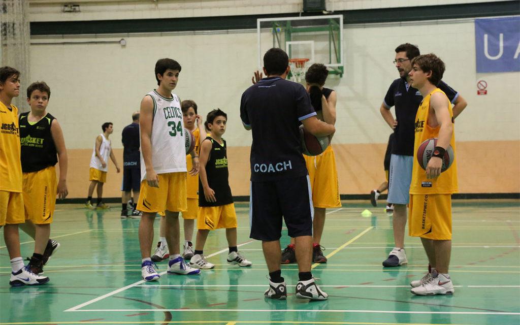 Formulario inscripción XII Campus JGBasket. Universidad de Alcalá