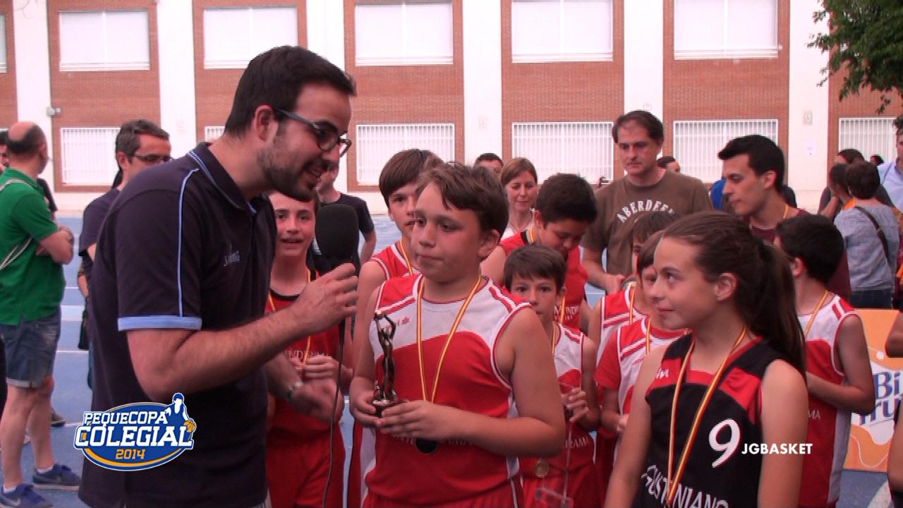 Video: Entrevista a los MVPs de la PequeCopa 2014