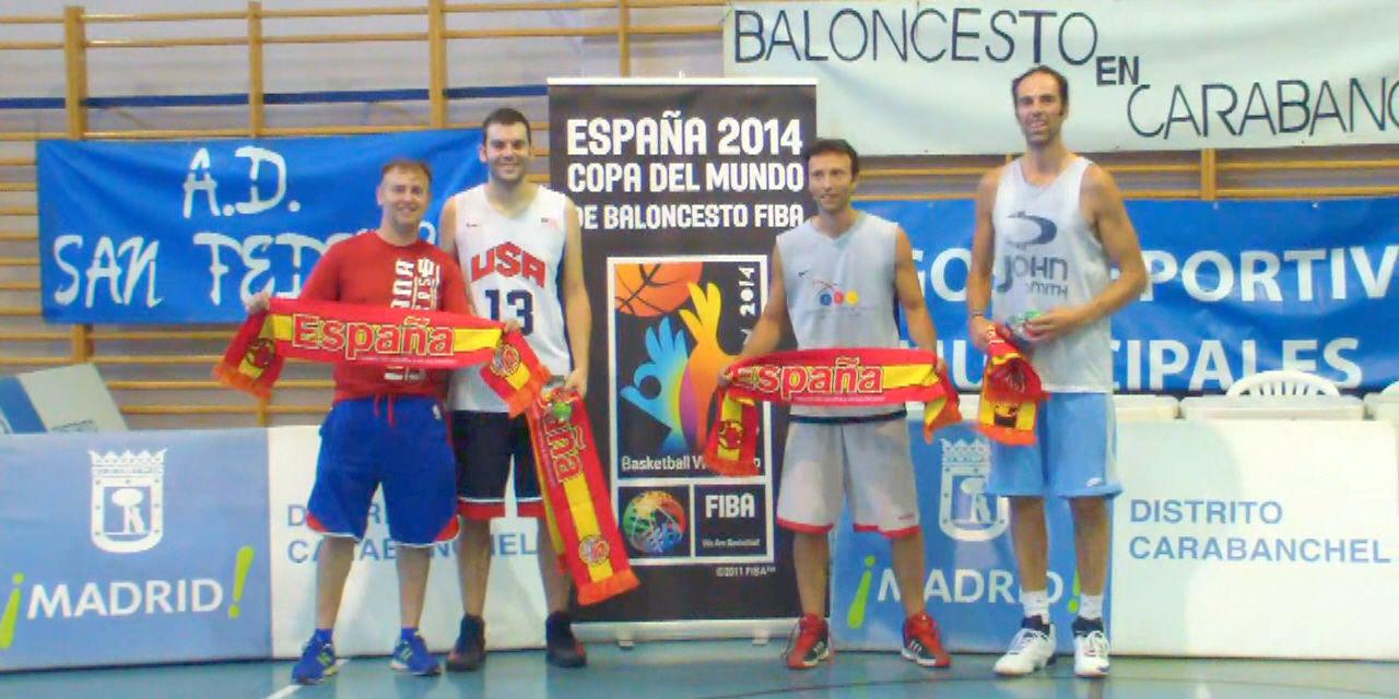 Videos: Torneo 3×3 Carlos Jiménez. Polideportivo La Mina. Carabanchel Madrid. 15 de Junio 2014