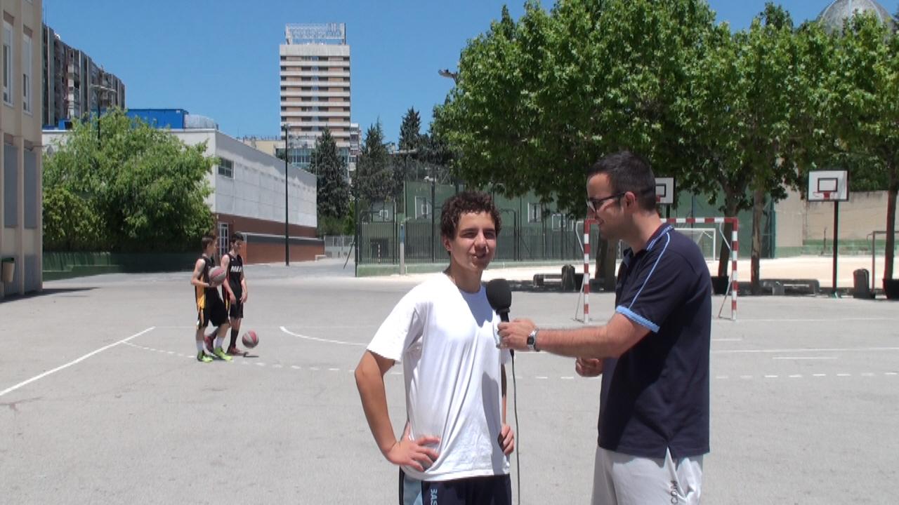 Entrevista: ¿Qué le ha aportado el Campus JGBasket a Javier? Jugador que ha estado cuatro años en el Campus