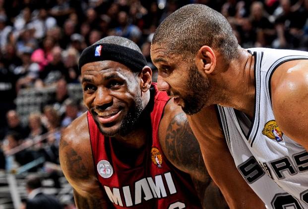 Miami Heat vs San Antonio Spurs: Finales de la NBA. Un duelo con aires de revancha.