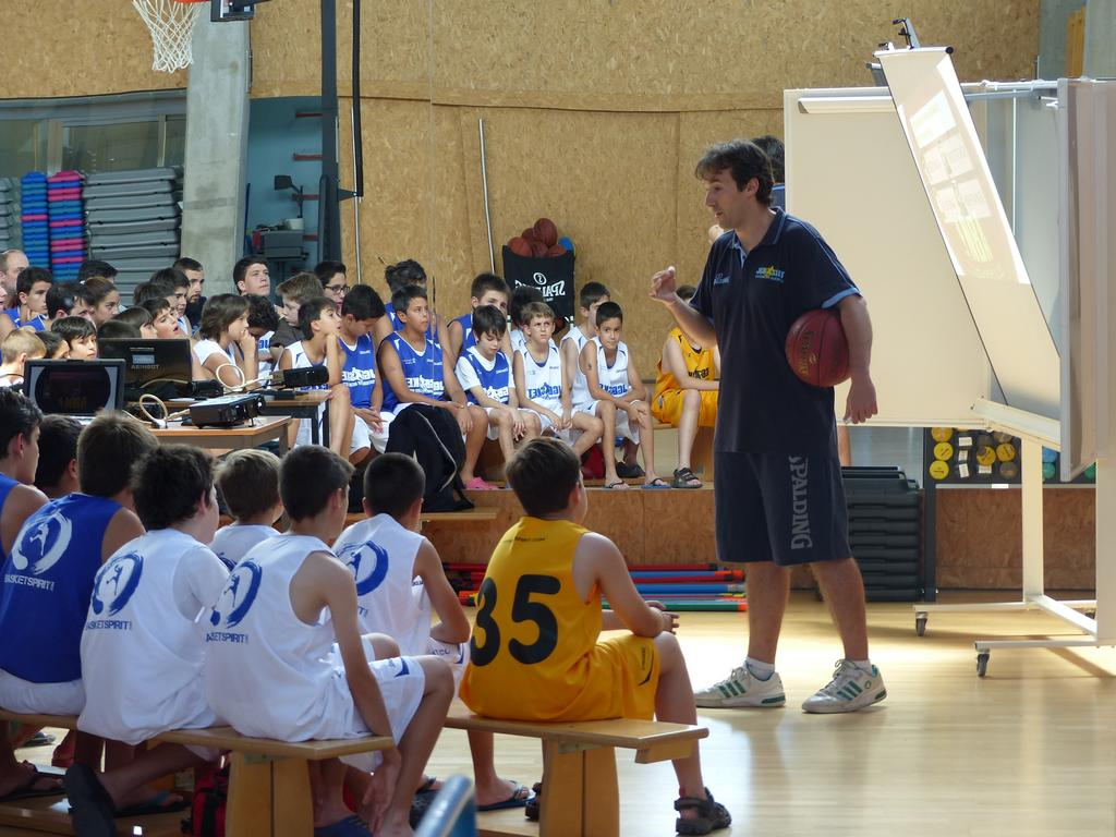 Campus JGBasket 2014. El trabajo del tirador