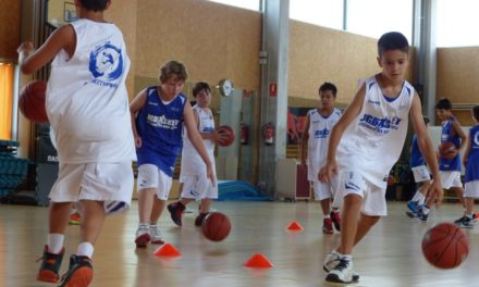 Ejercicios básicos de minibasket (y II)