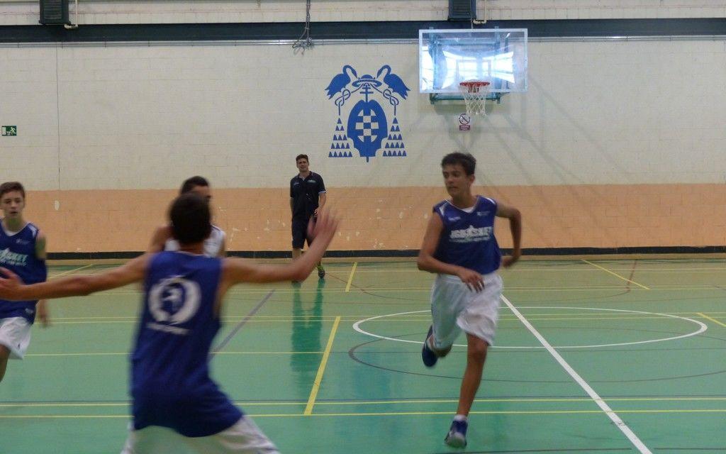Iniciación baloncesto-minibasket. Ayudar sin ayudas en defensa