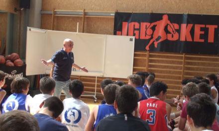 Grandes jugadores que hacen cosas que no se ven. Charla Chema Buceta Campus JGBasket