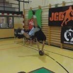 Video: Gracias por la magia; Exhibición de Dawizard a sus alumnos en el taller de freestyle del Campus JGBasket