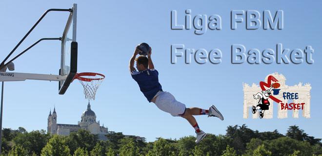 Primera jornada histórica de la Liga Free Basket. FBM. La liga entre semana de Madrid