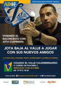 Cartel Jornada Jota ABC Colegio El Valle