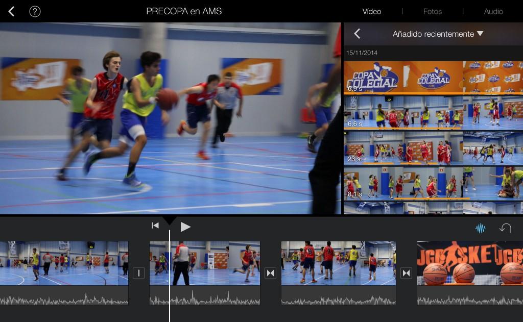Videos: PreCopa Colegial en ASM. 15 Noviembre 2014