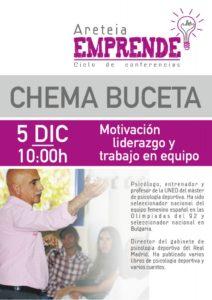 Chema Buceta. Conferencia Areteia Emprende