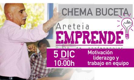 """Conferencia Chema Buceta. """"Participar para avanzar"""".  5 Diciembre. Colegio Areteia. Madrid"""