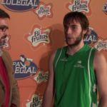 Entrevista a jugador Arturo Soria. Presentación Copa Colegial Madrid 2015