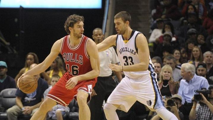 Pau y Marc, titulares y rivales en el All-Star