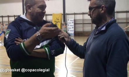 Entrevista a José Javier Cortés, entrenador de Maristas Chamberí femenino
