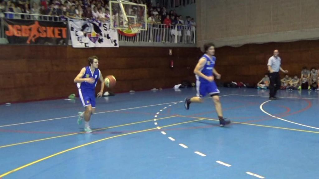 Videos: Duelo de ganadores. San Agustín vs Brains. Copa Colegial Madrid 2015. Resumen, Action Cam y entrevistas