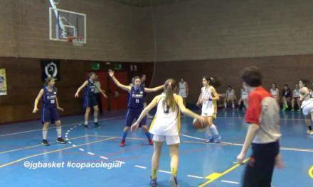 """San Agustín vs Brains. El imparable ritmo de """"Las Correcaminos"""". Copa Colegial 2015"""