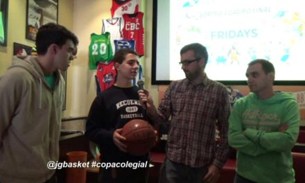 Videos: Sorteo Cuadro Final Copa Colegial Madrid 2015