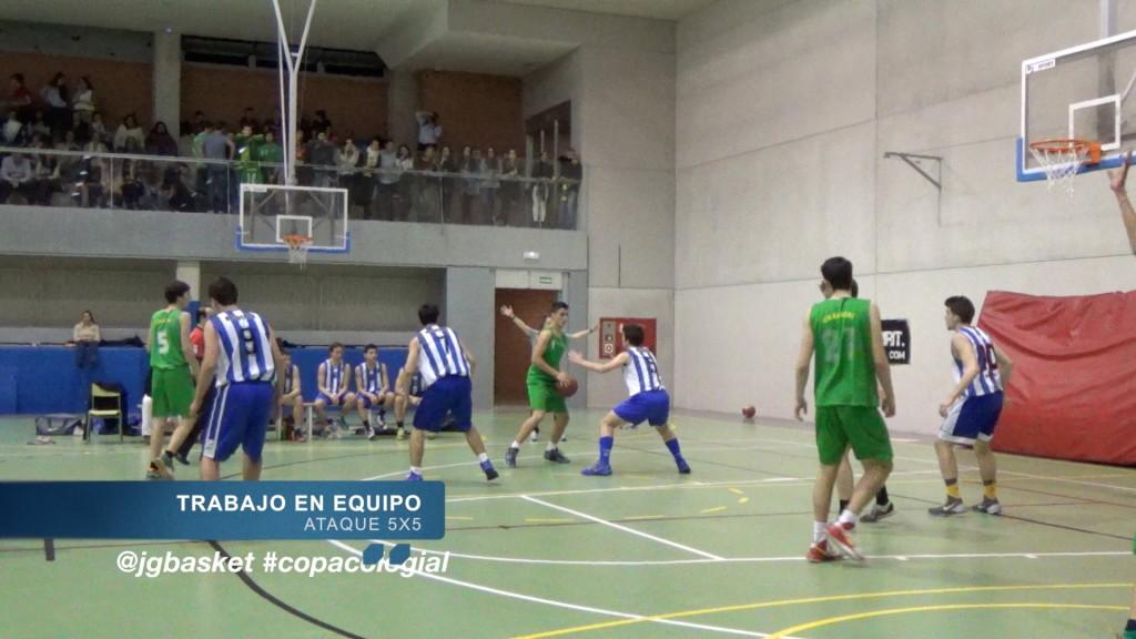 Video táctica: Juego de equipo. Recuerdo vs Maristas Chamberí. Copa Colegial 2015