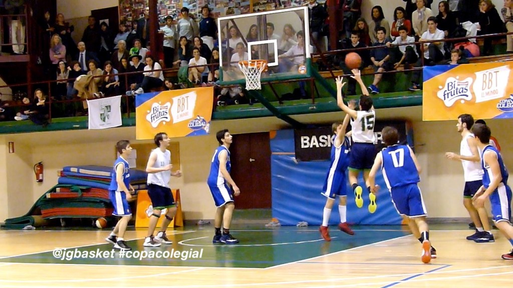 Video: San Patricio vs Brains. Resumen extenso. Semifinal Copa Colegial Madrid 2015