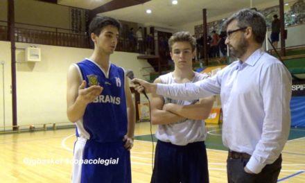 Entrevista MVPs San Patricio vs Brains. Semifinal Copa Colegial Madrid 2015