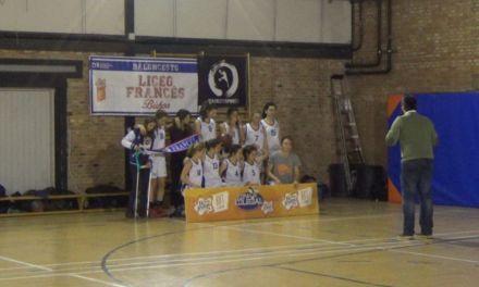 Liceo Francés vs Arcangel San Rafael femenino. Semifinales Copa Colegial Madrid 2015