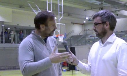 Entrevista Angel Sanz. Final Copa Colegial Madrid 2015.