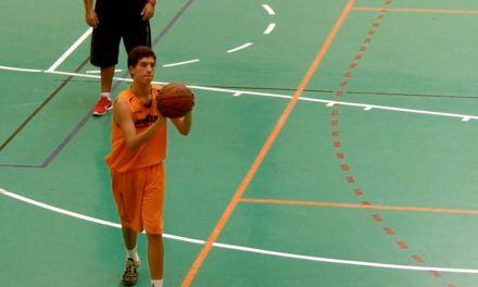 Autoentrenamiento tiro. Ejercicio baloncesto