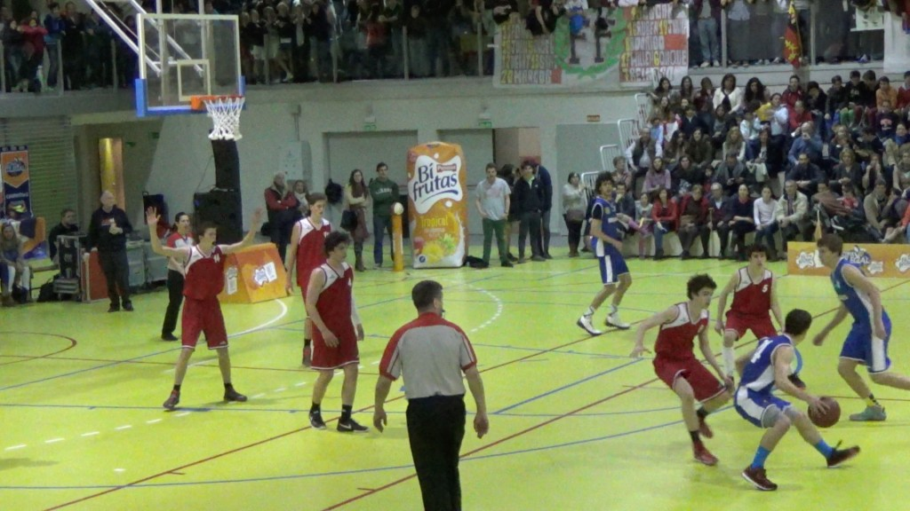 Video Top: Gran Final Copa Colegial Madrid 2015. Fomento Fundación vs Brains.