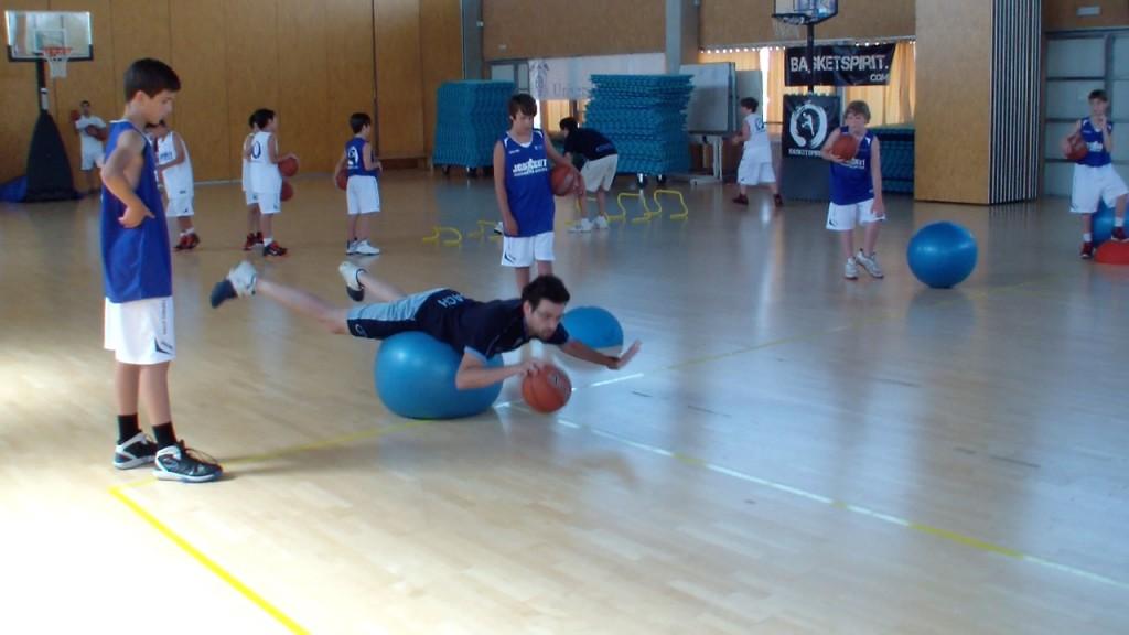 El Campus JGBasket apuesta por la preparación física
