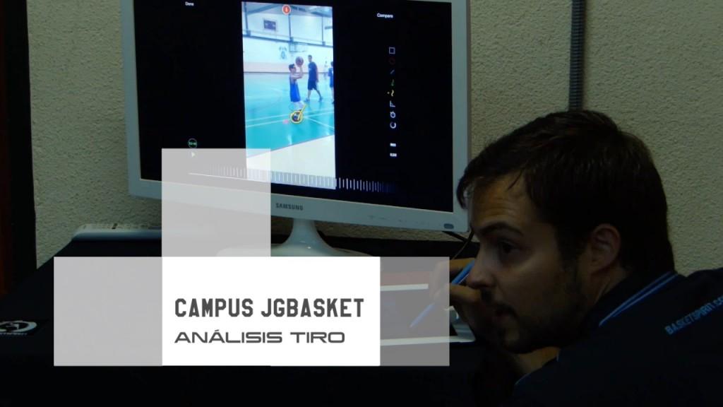 Análisis individualizado de tiro en baloncesto. Campus JGBasket