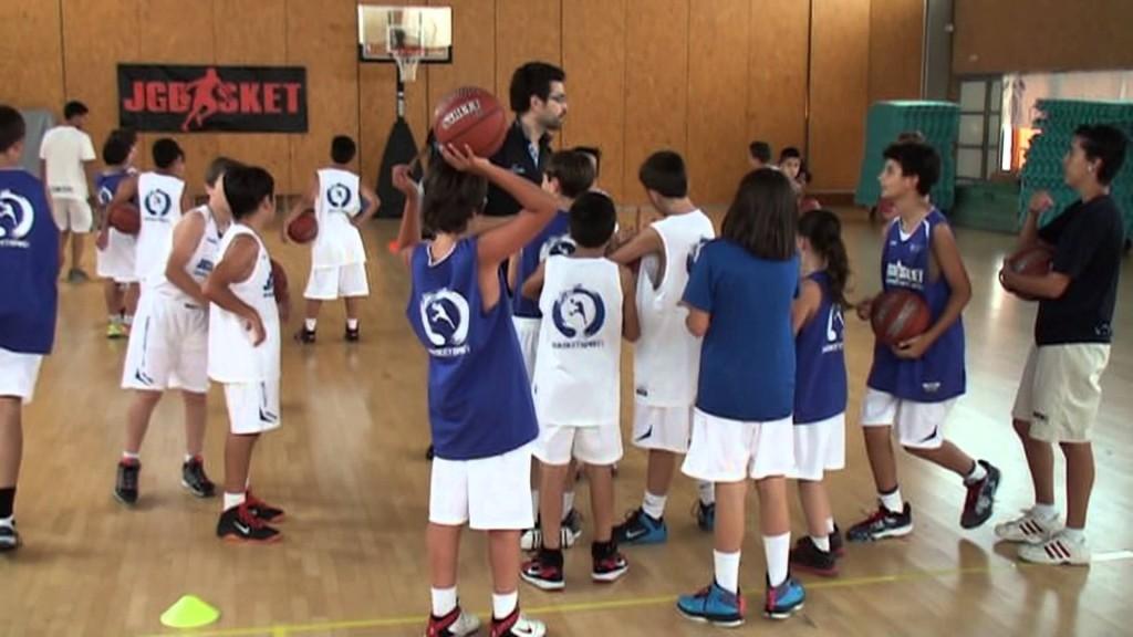 Ejercicios básicos de minibasket (I)