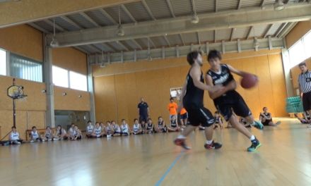 Highlights: Final 1×1 Canasta grande. Campus JGBasket 2015. Turno 01