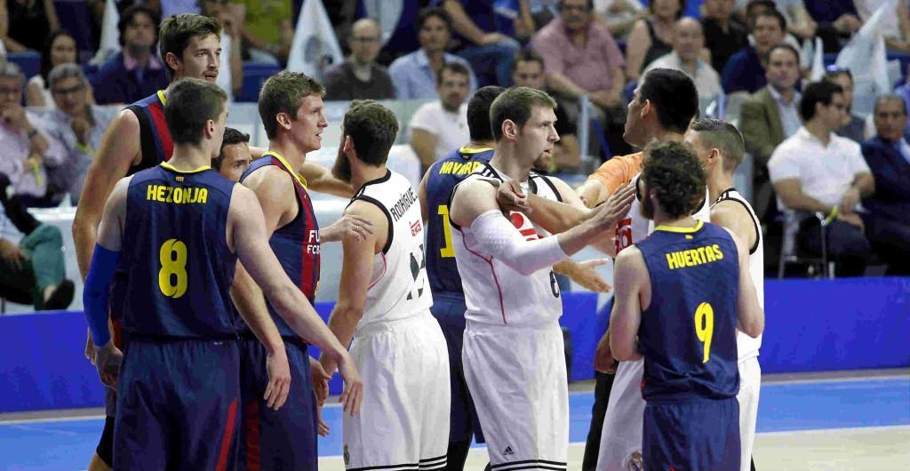 Final ACB. Primer partido. El Madrid golpea primero