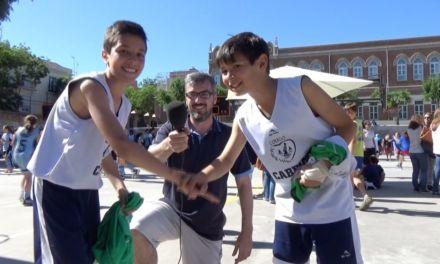 Peque Copa Colegial 2015. Colegio Caldeiro. Entrevistas MVPs Under Armour y protagonistas.