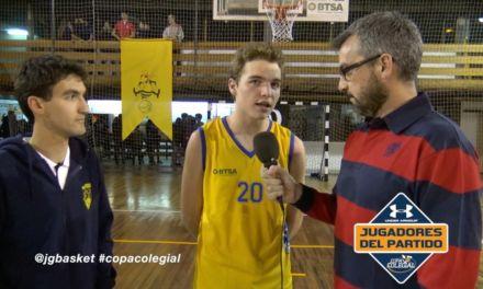 Entrevistas partido Maravillas vs Liceo Italiano. Copa Colegial Madrid 2016