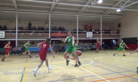 Videos Copa Colegial: Arturo Soria vs Agustiniano femenino. 3 clips