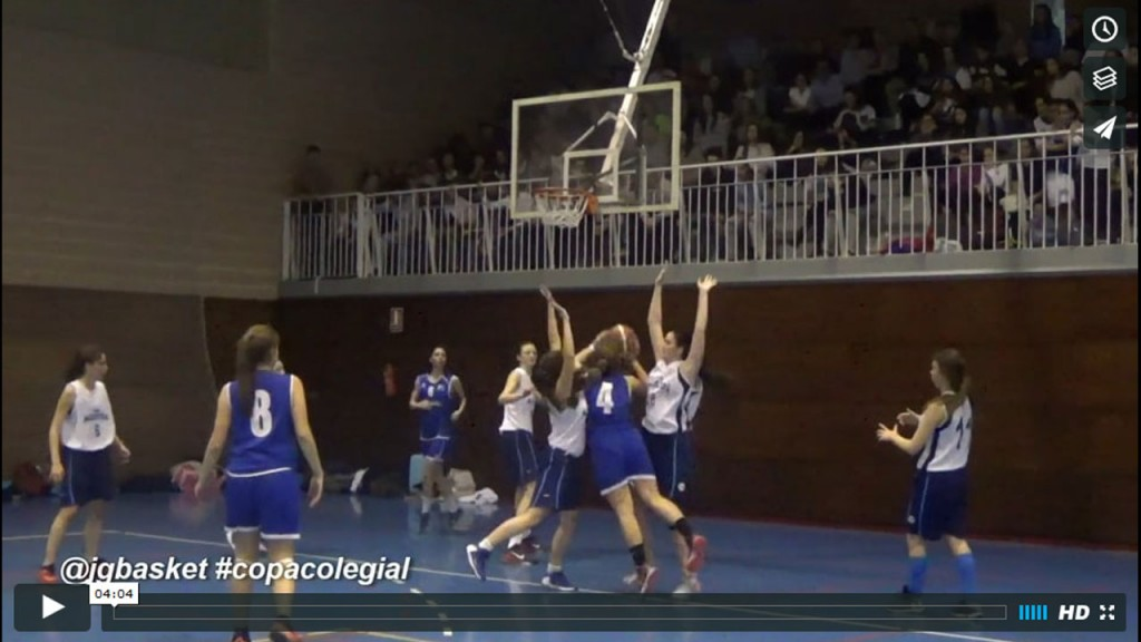 Video Copa Colegial: San Agustín vs Fomento Fundación femenino. (3 videos)