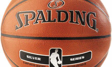 Uno de los mejores balones indoor-outdoor por calidad-precio. Spalding NBA Silver Indoor-Outdoor