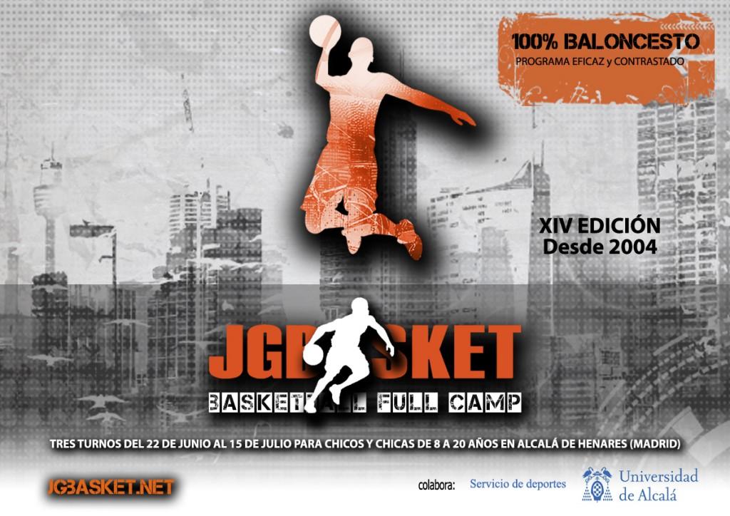 Formulario inscripción XIV Campus JGBasket. Edición 2016