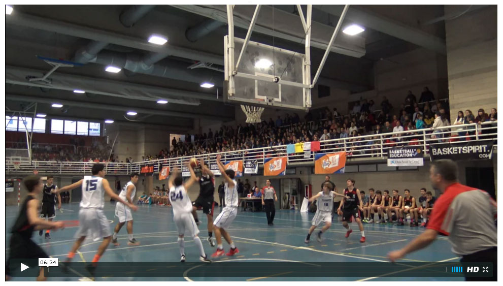 Videos Agustiniano vs San Agustín (5 videos) Copa Colegial Madrid 2016