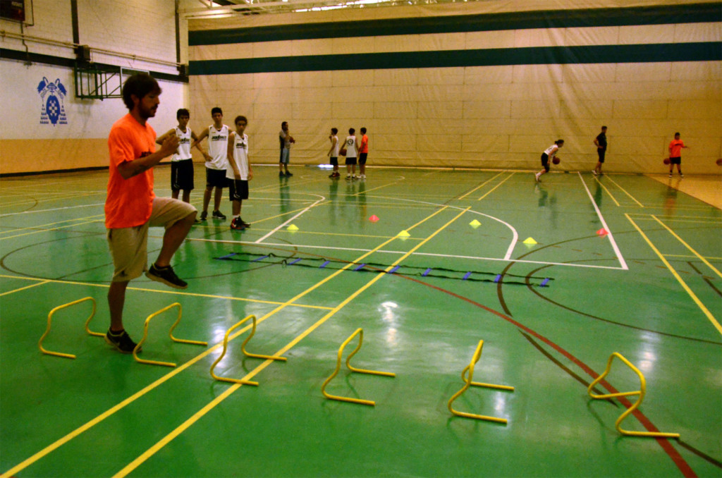 Preparación física específica para baloncesto. Campus JGBasket