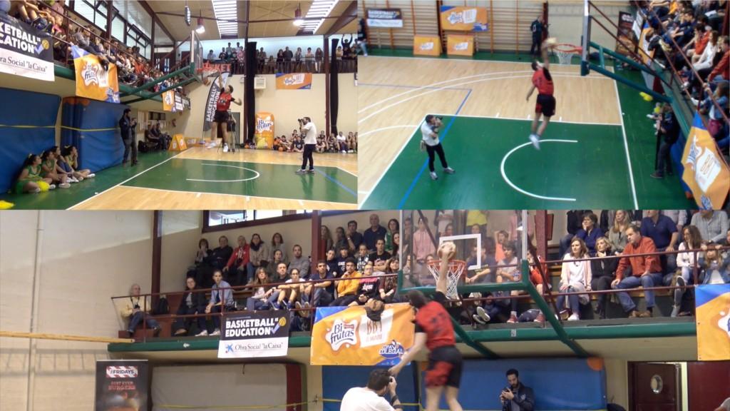 Videos multipantalla. Concurso de mates. All-Star Colegial Madrid 2016